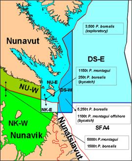 Ungava Bay Divisions